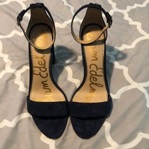 Sam Edelman Yaro Navy Blue heels